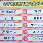 女子高生流行語大賞がやばすぎ!意味・読み方・使い方を解説!