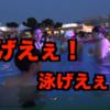 ナイトプールでガチ泳ぎしたのは誰?6面(ユーチューバー)「お前ら何しにプールに来てんだ」<動画>