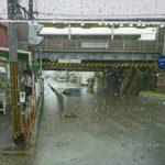 奈良県高田市駅の高架下が浸水・冠水。渋滞発生【現在の現地の様子】