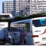 東名高速上りで渋滞の理由は?町田インター付近で事故。観光バスとトラックが・・・