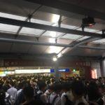 京成本線・東中山駅で人身事故。運転再開はいつ?【現在の様子】船橋駅がディズニー状態