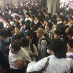 津田沼駅の現在の様子【大混雑】京成本線・東中山駅の人身事故の影響