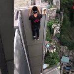 高層ビルから落下したユーチューバーの名前や顔画像は?【問題の事故動画】「自業自得」「見たけどやばすぎ」