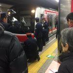 なんば駅で人身事故(御堂筋線)。運転再開はいつ?「改札に入れない」「電車の下に人がいる」
