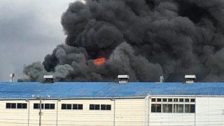 ブリヂストン名張工場で火事(三重県名張市)。原因は?「自動車学校の横」「黒煙がすごくて怖い」