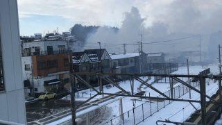 鹿島台で火事(大崎市)。「爆発音がなった」「かなりヤバイ」「黒煙がもくもく」-宮城県