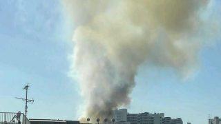 目黒区東山で火事(ドンキの近く)。「消防車の数が凄い!」「けっこうやばそう」-東京